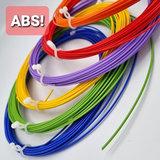 abs rainbow 3d pen filament