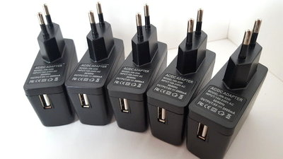 5V / 2A - EU usb adapter CE/FCC Gepruft