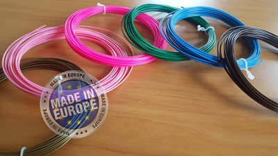 6x 10m - PLA Filament - Natürlich (±200g)