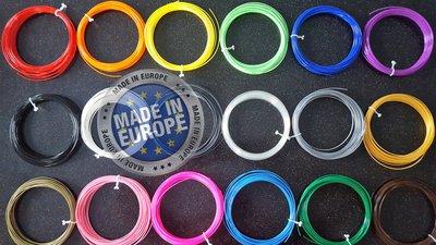 18x 10m - ABS Filament packung - Alle Farben für 3D Stifte (±0,5kg)