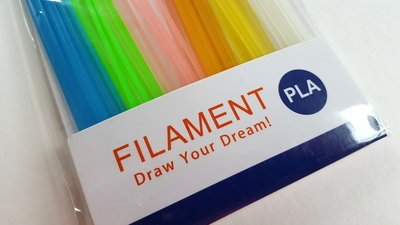 60x 0,25m - PLA Sticks - Nachtleuchtendes Filament
