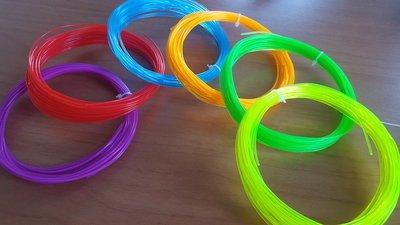 6x 10m - PLA Fluorescent | Filament paket (etwa. 200g)