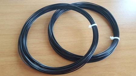 2X 10M - PLA Filament Schwarz für 3D Stifte (±65G)