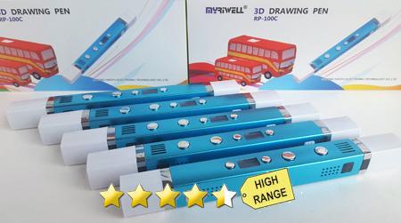 MyRiwell Professional 3D Stift (ABS & PLA!!!)
